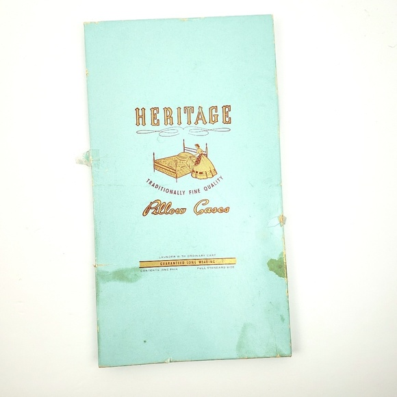 Heritage Other - Vintage Heritage Embroidered Pillowcases
